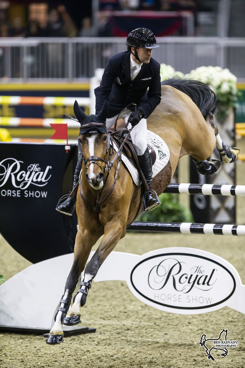 Eric Lamaze Makes Triumphant Return to Toronto's Royal Horse Show