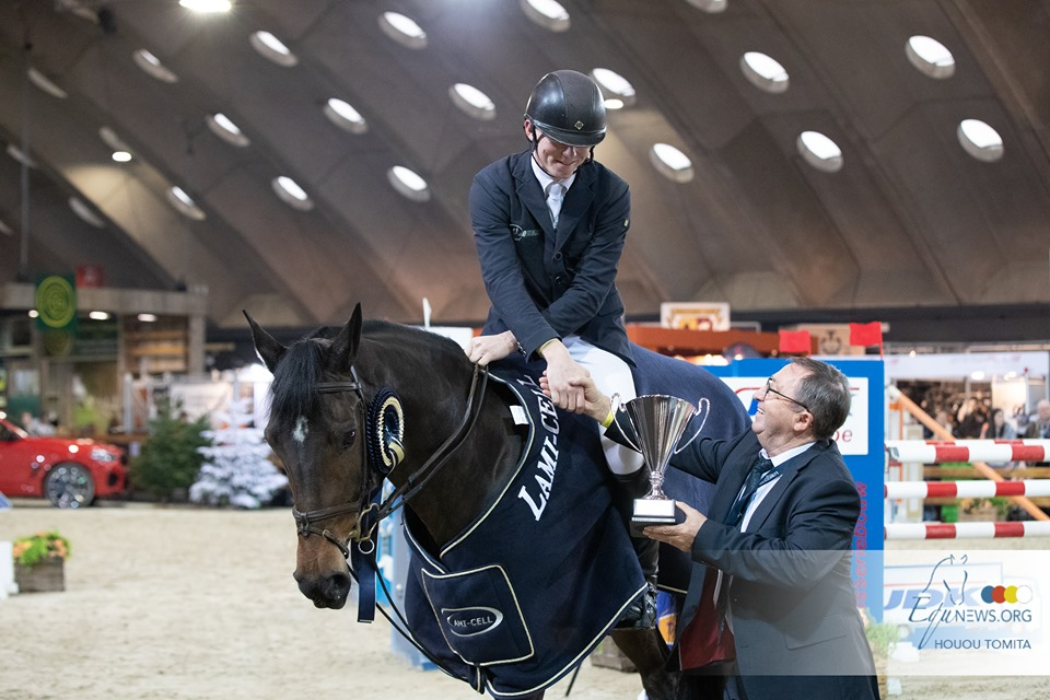 Ian Fives wins CSIJ-YR speedclass in Mechelen