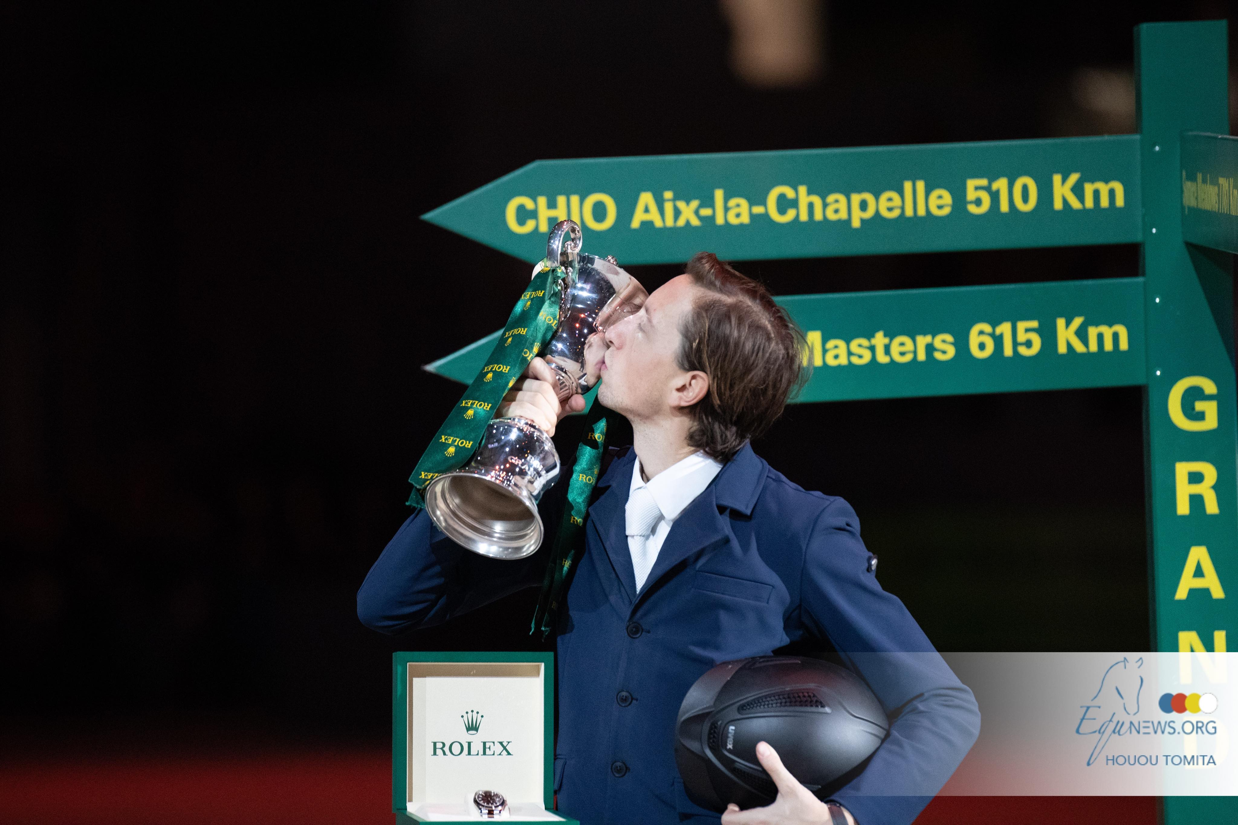 Martin Fuchs wins Rolex Grand Prix in Geneva