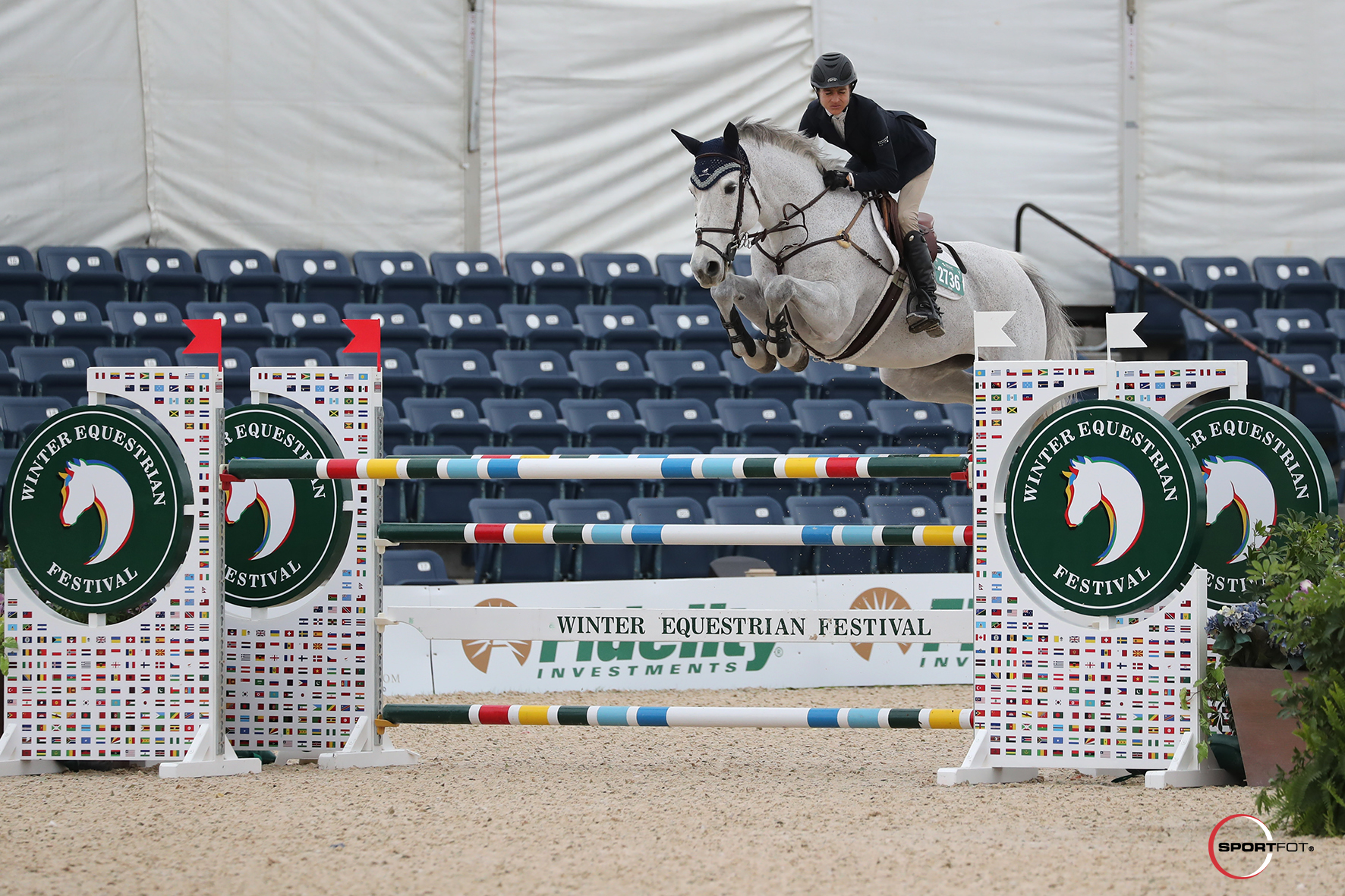 Laura Chapot Finishes One-Two in 1.40m Jumper Speed Challenge at WEF