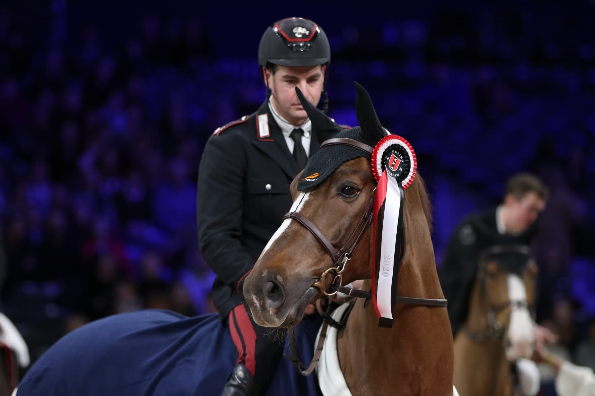 No one can beat Emanuele Gaudiano and Kingston in 1,45m Heineken 0.0 Prize of Amsterdam