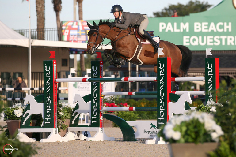 Shane Sweetnam opens 2020 Winter Equestrian Festival with a win for Ireland