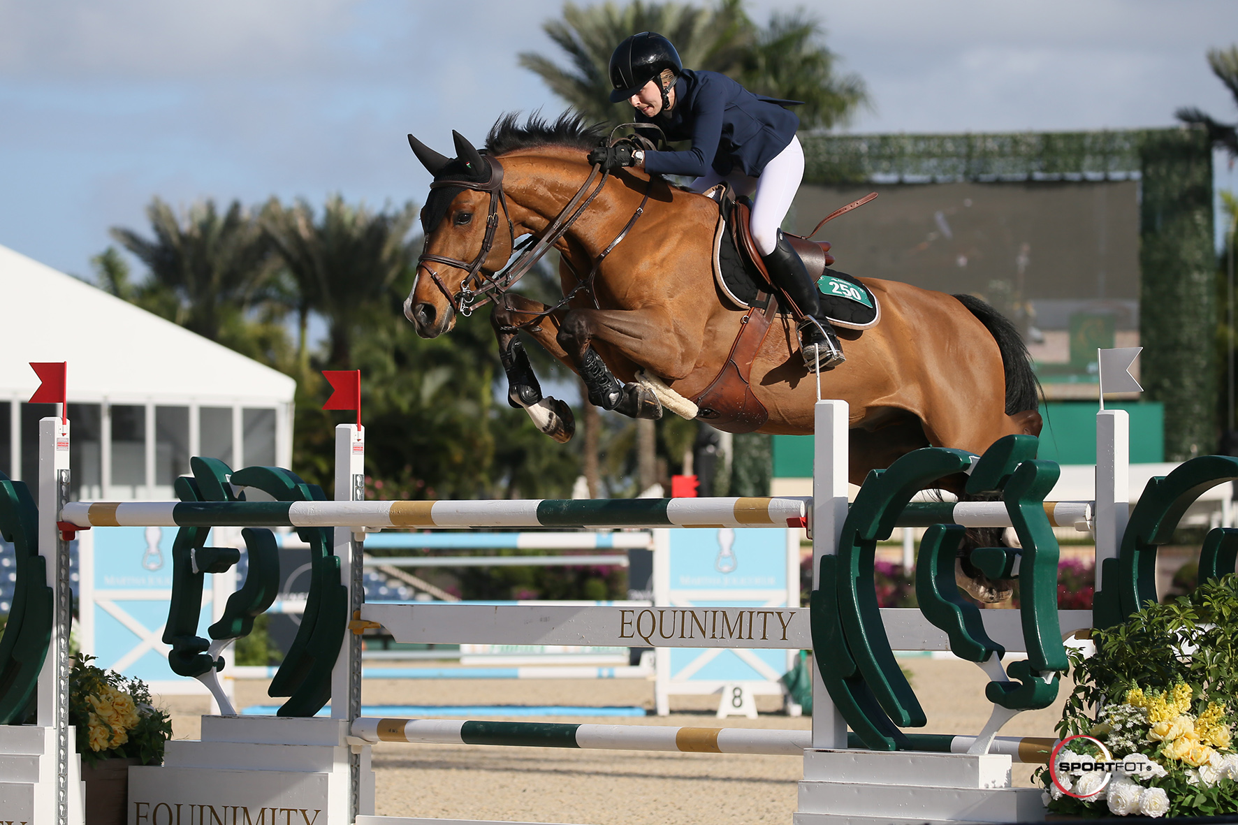 Abigail McArdle and Victorio 5 are Victorious In WEF Challenge Cup