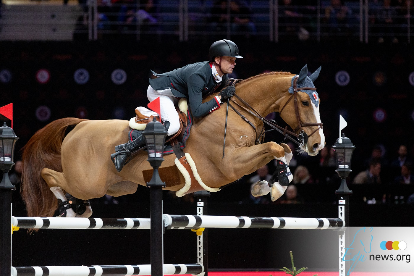 Jérôme Guery takes the lead in CSI2* Grand Prix of Sentower Park