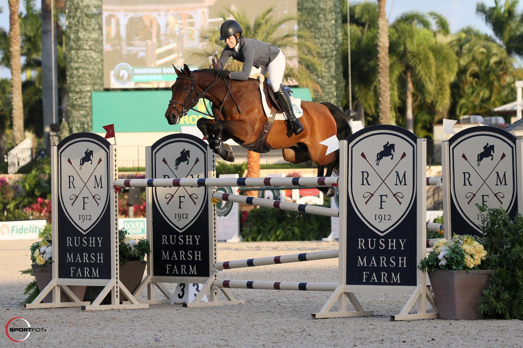 Madison Goetzmann Rises to the Top in Rushy Marsh Farm Grand Prix CSI2*