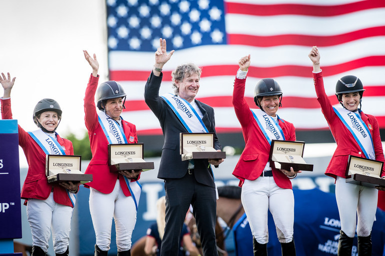 Beezie bags it for USA, but British girls are brilliant