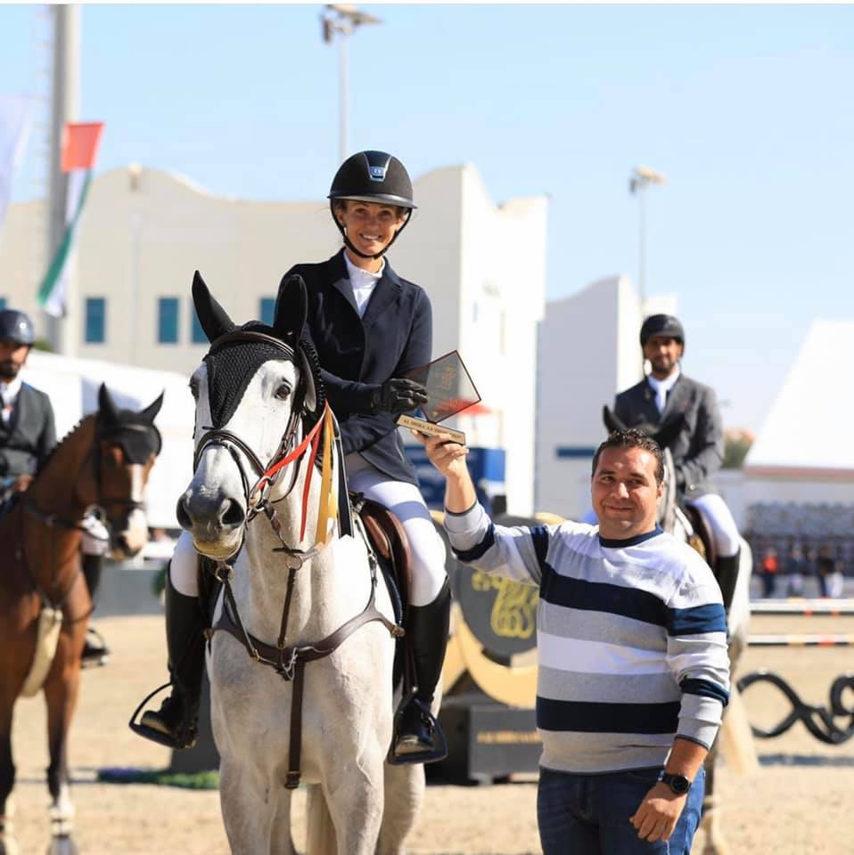Tina Lund conquers the Abu Dhabi Grand Prix