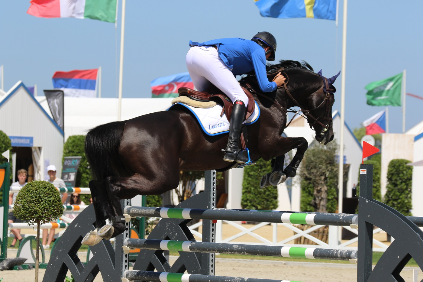 Bruce Goodin wins FEI World Cup Qualifier of Sharjah