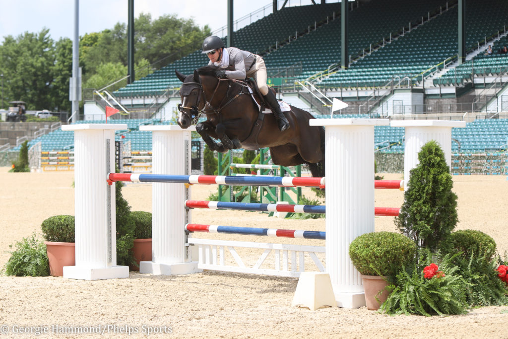 Shane Sweetnam & HDB Quality Kick Off Kentucky Summer Horse Show with a Win in 7-Year-Old Jumpers