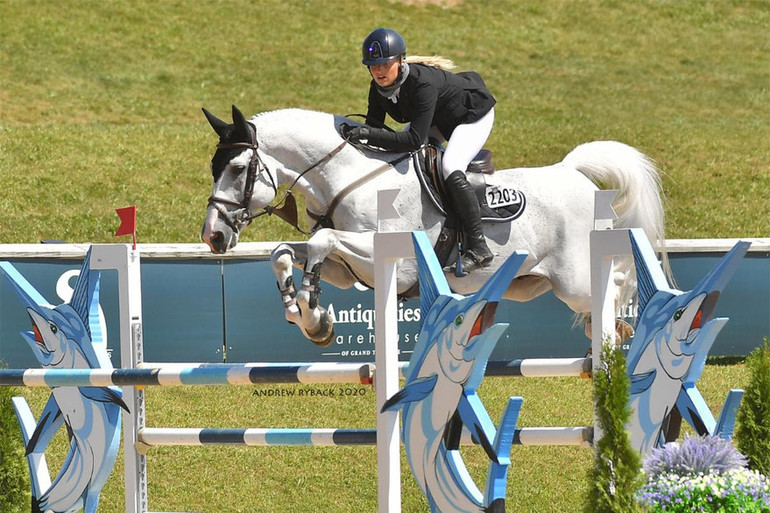 Kristen Vanderveen finishes one-two ahead of large field in $36,600 Welcome Stake CSI3*
