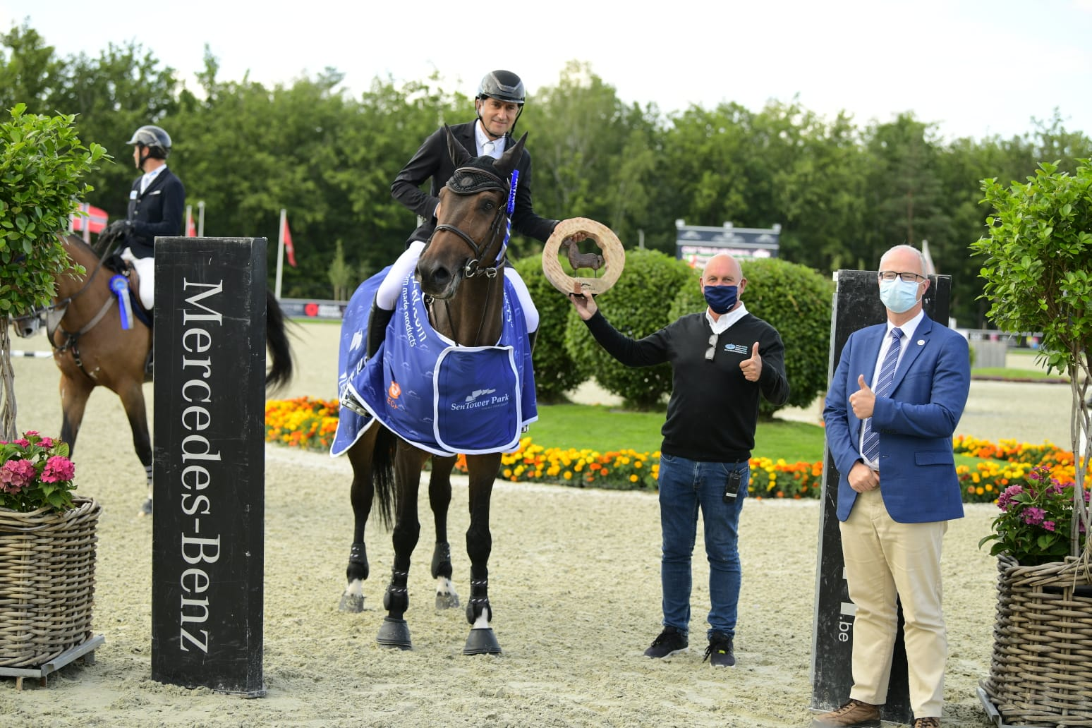 Bucci takes gold in the Longines Ranking Class Sentower Park