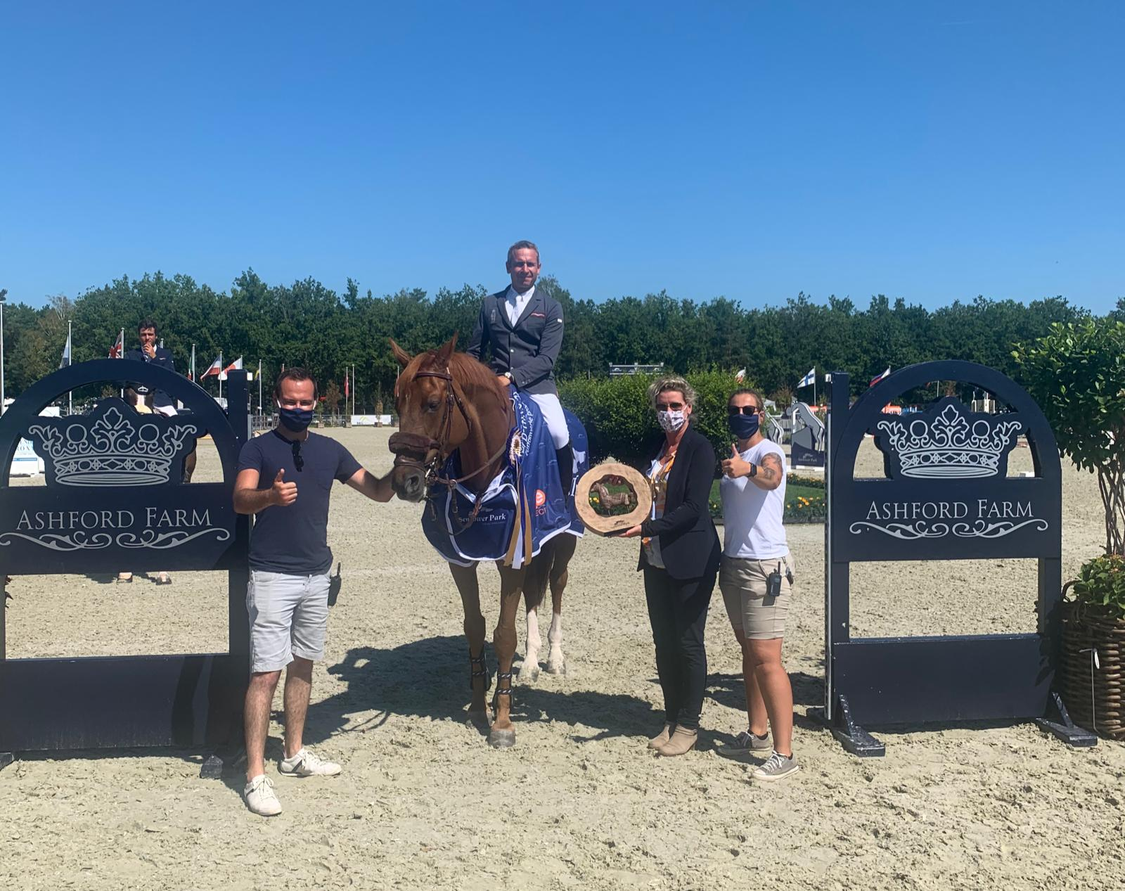 French riders dominate Longines Ranking in Sentower Park