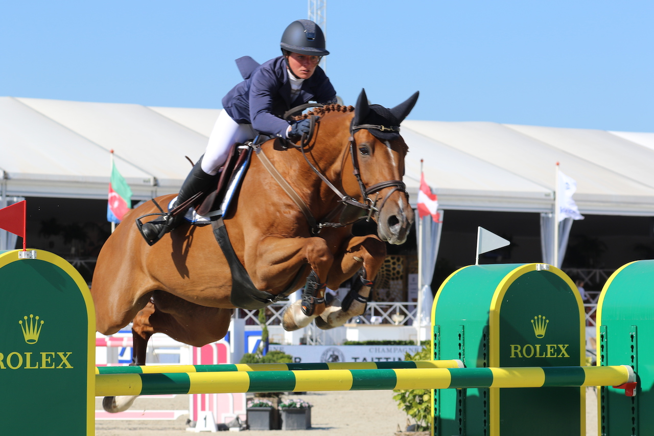 Vejer de la Frontera: Emma Stoker speeds to victory in the 7yo class