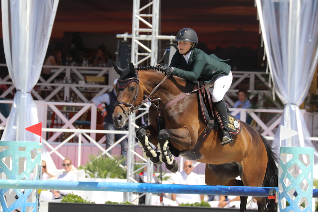 Nicola Pohl on top in Longines Ranking Sunshine Tour