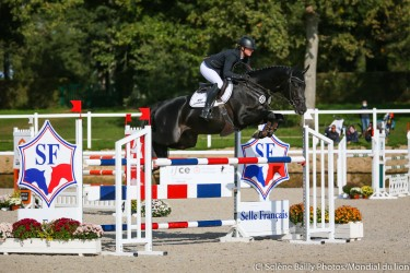 WC 7-year old eventing horses: Sophie Leube, from start to finish !