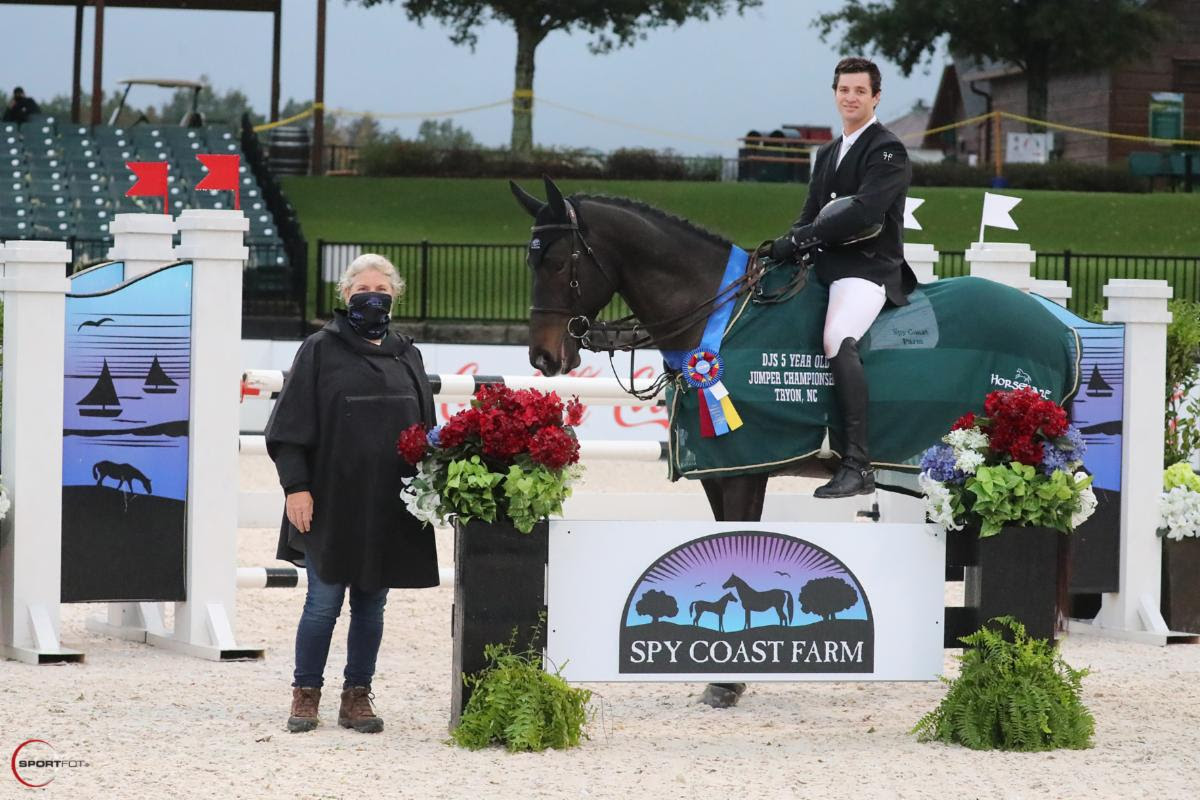 David O'Brien and Spy Coast Farm Mounts Sweep All Divisions in Developing Jumper Series Finals