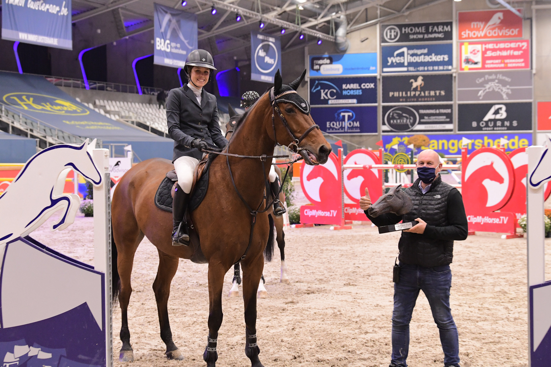 Victoria Gulliksen wins CSI3* LR of Opglabbeek