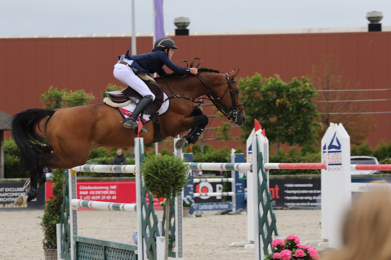 CSI Oliva: Bertram an Harry Allen on first and second place in Silver Tour Grand Prix