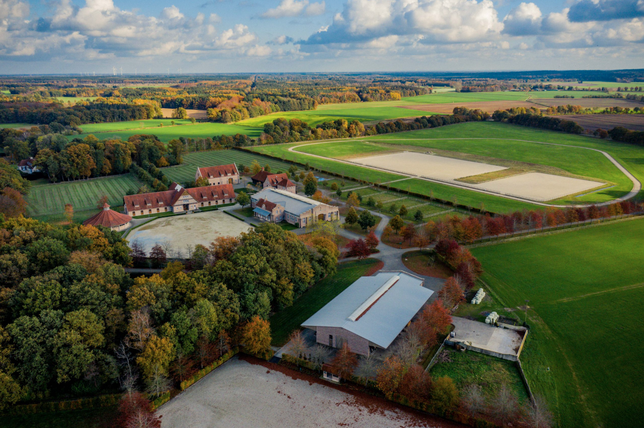 FOR SALE: Unique equestrian property in Germany on about 60ha, right in the heart of equestrian Europe