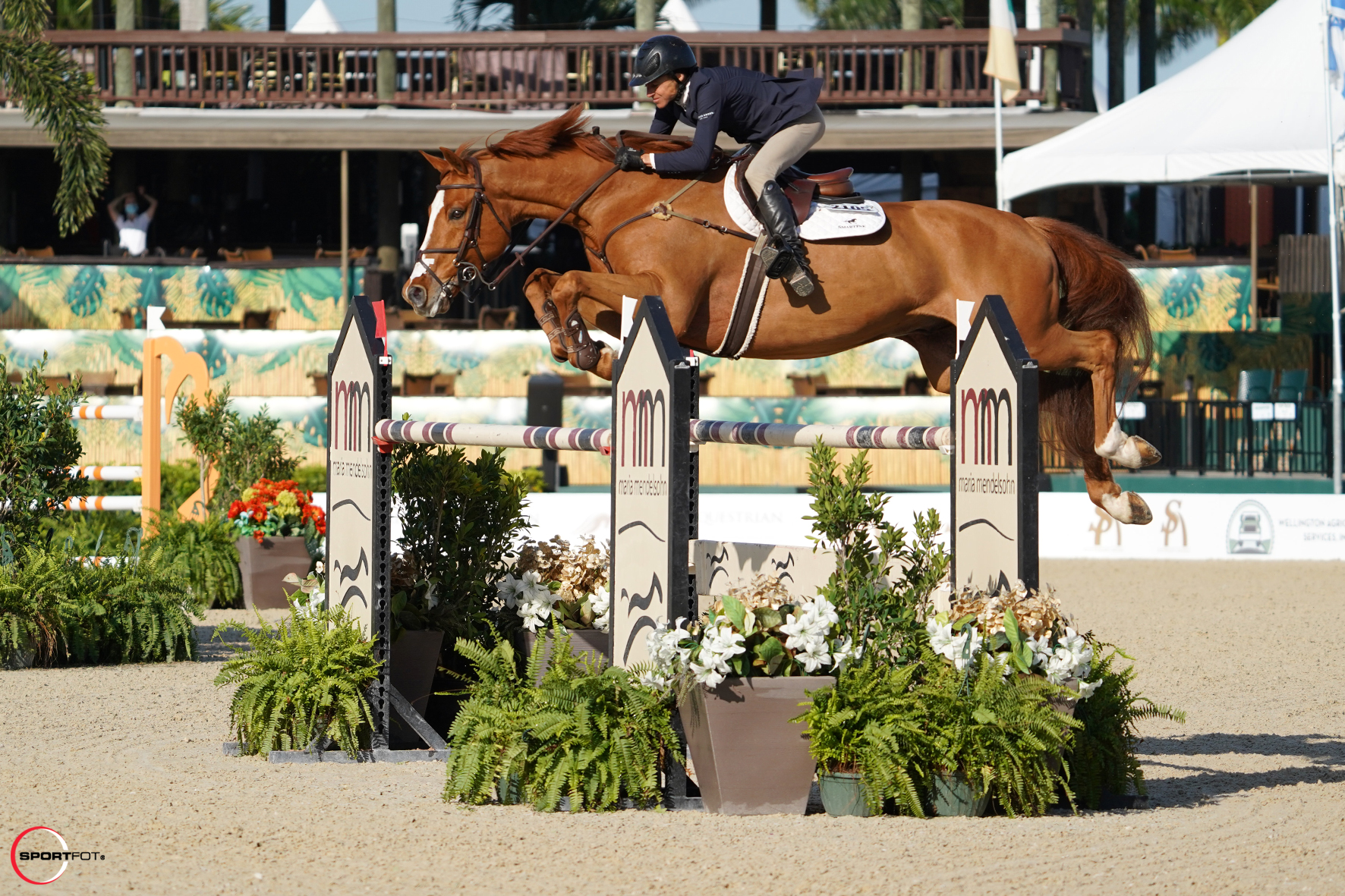 Laura Chapot and Calafornia Capture the Win in the $6,000 Bainbridge Companies 1.40m Jumpers