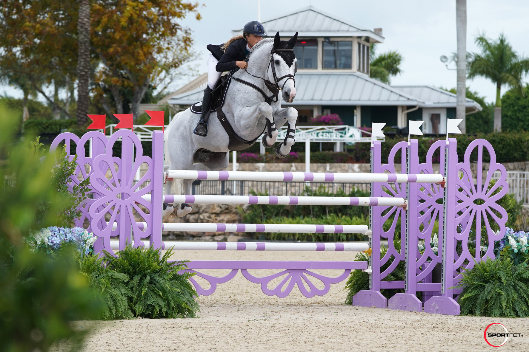 Speed Queen Kristen Vanderveen Wins $10,000 Douglas Elliman Real Estate 1.45m Jumpers CSI4* at WEF 12