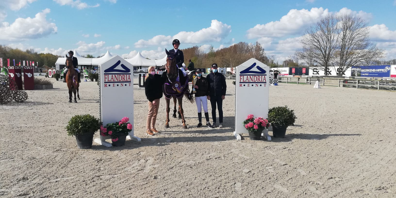 Charlotte Bettendorf takes CSI3* Grand Prix of Lier home