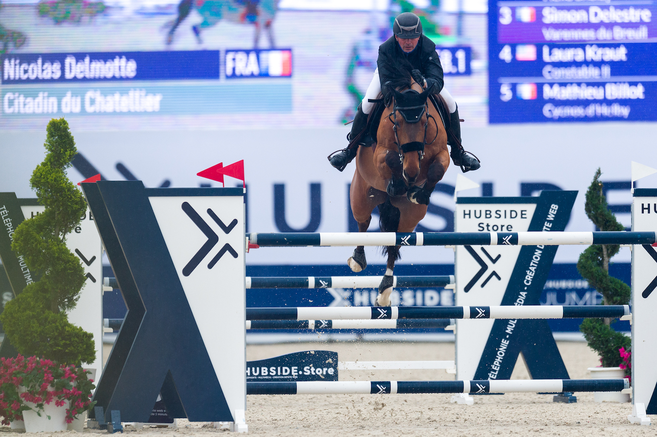 French victory in CSI4* morning class Hubside