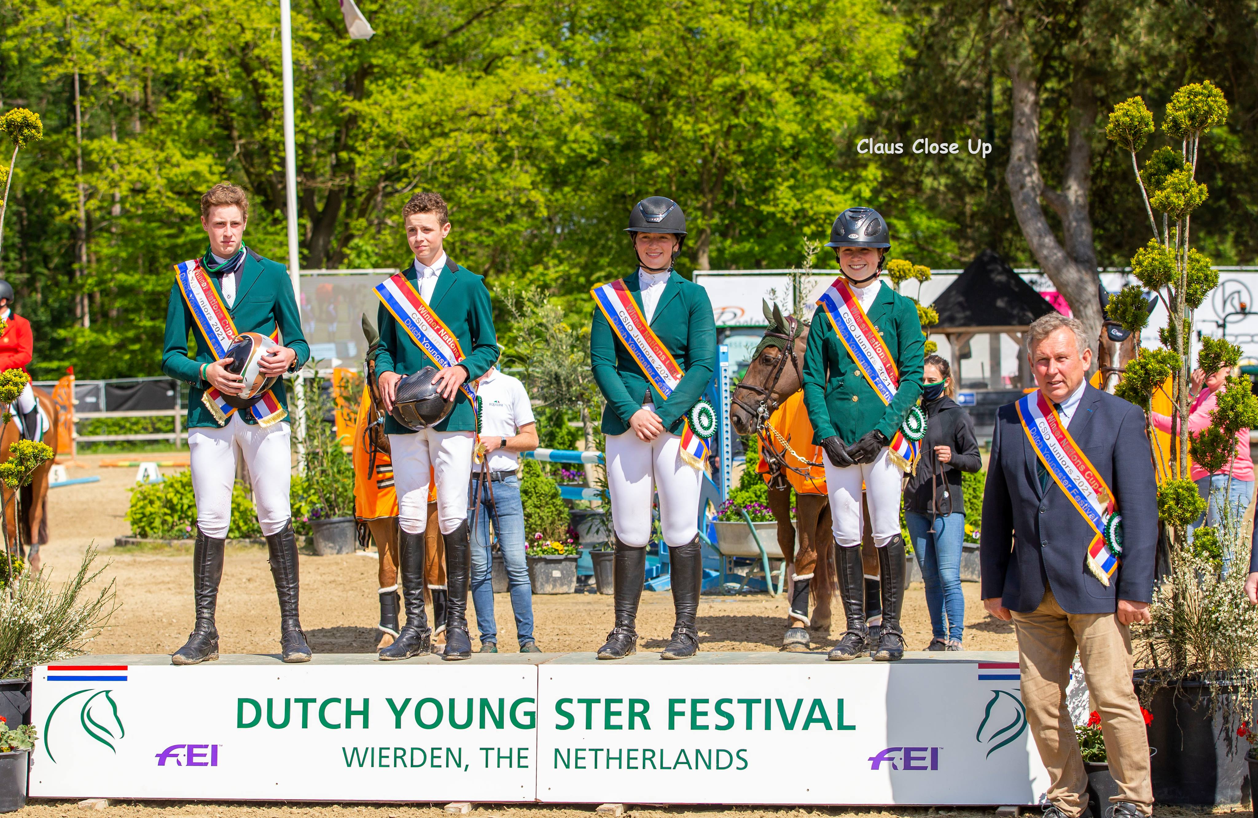 German Young Riders win Nations Cup at Wierden - Irish riders win Junior Cup