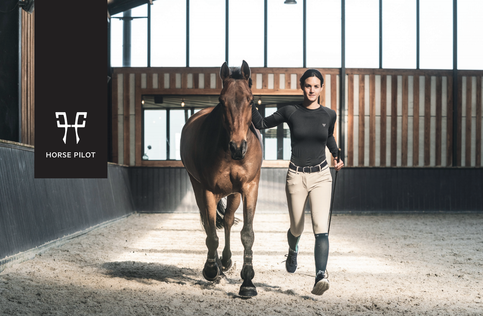 Horse pilot launches film: Why do you ride?