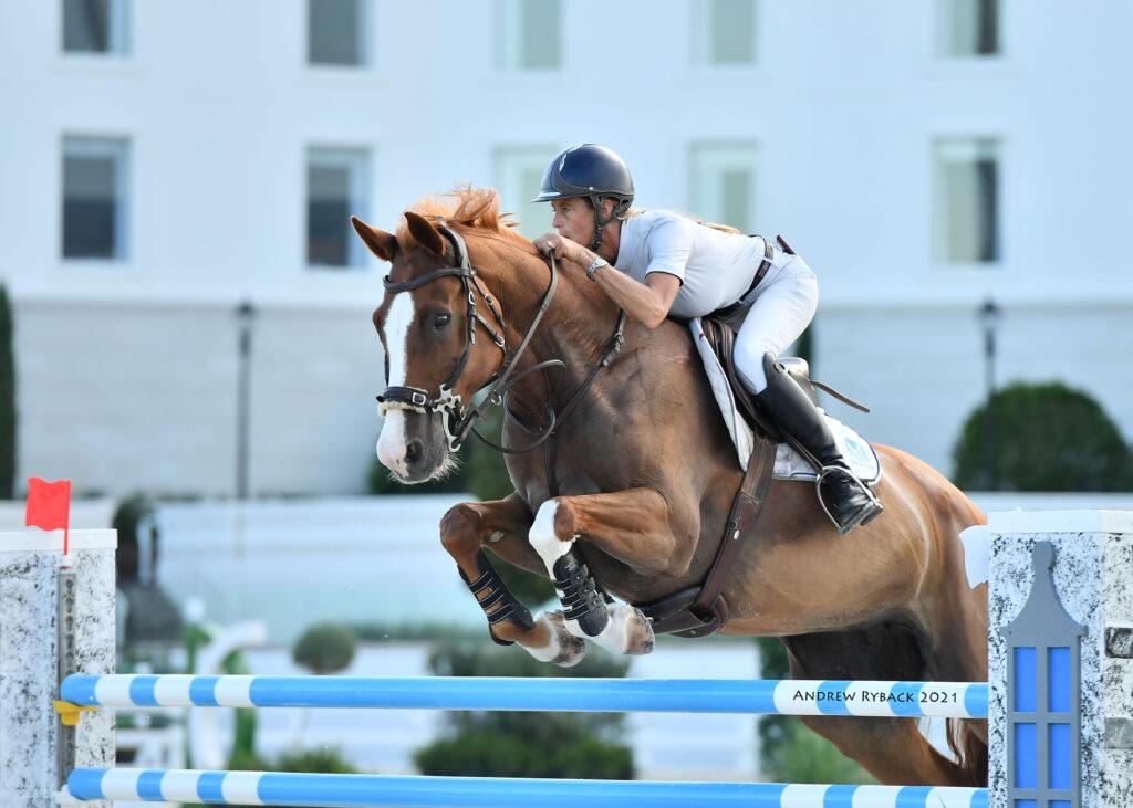 Jenni McAllister and Escada victorious in Ocala Welcome Prix