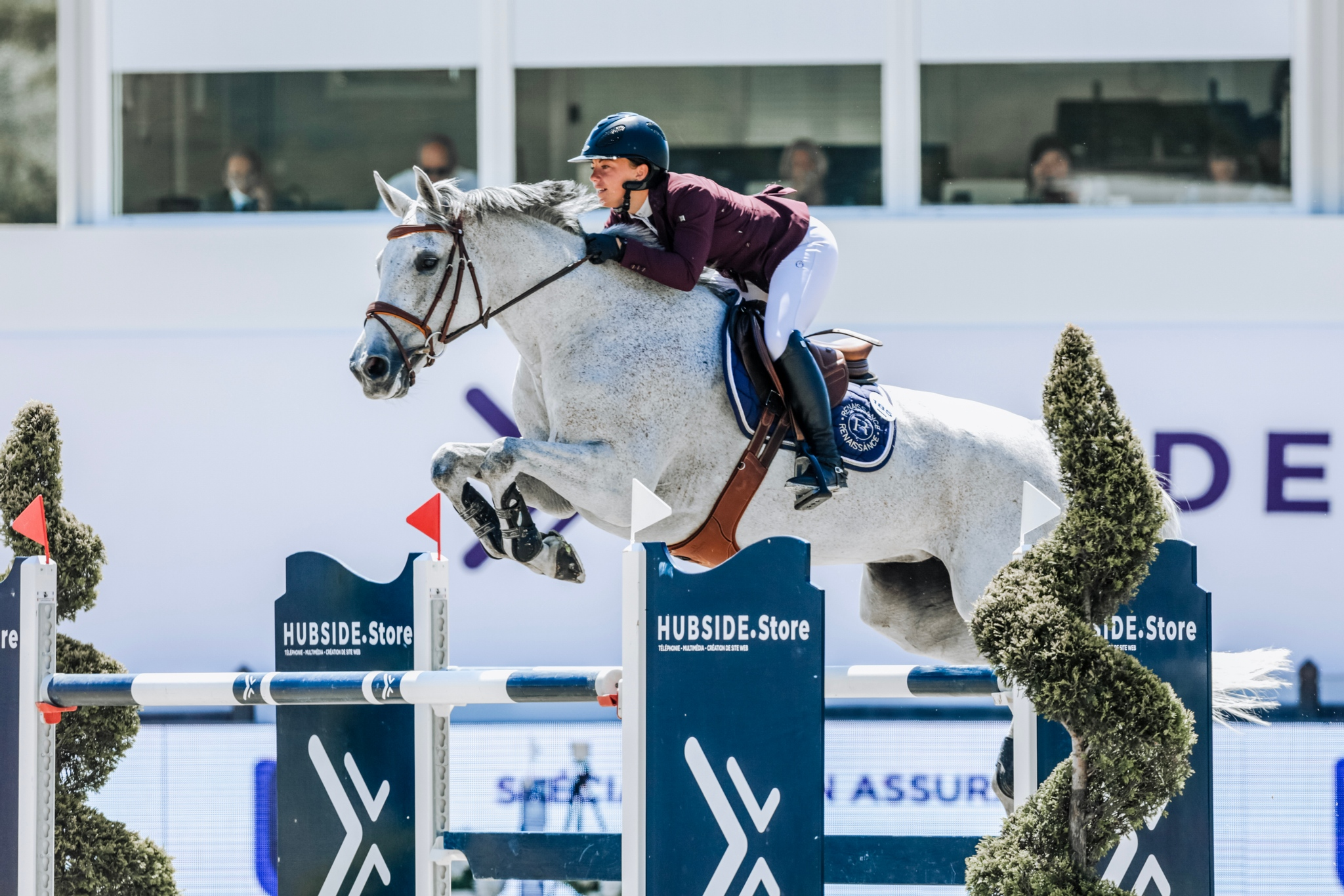 French riders dominate CSI2* Grand Prix of Hubside