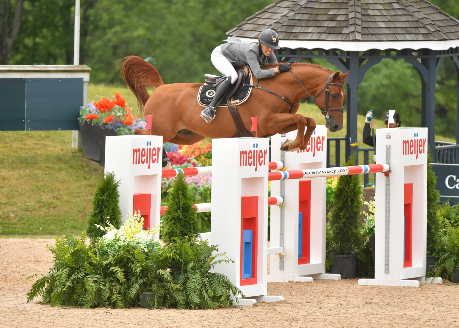 Hattrick for Katie Laurie and Cera Caruso in two-phase speed CSI3*
