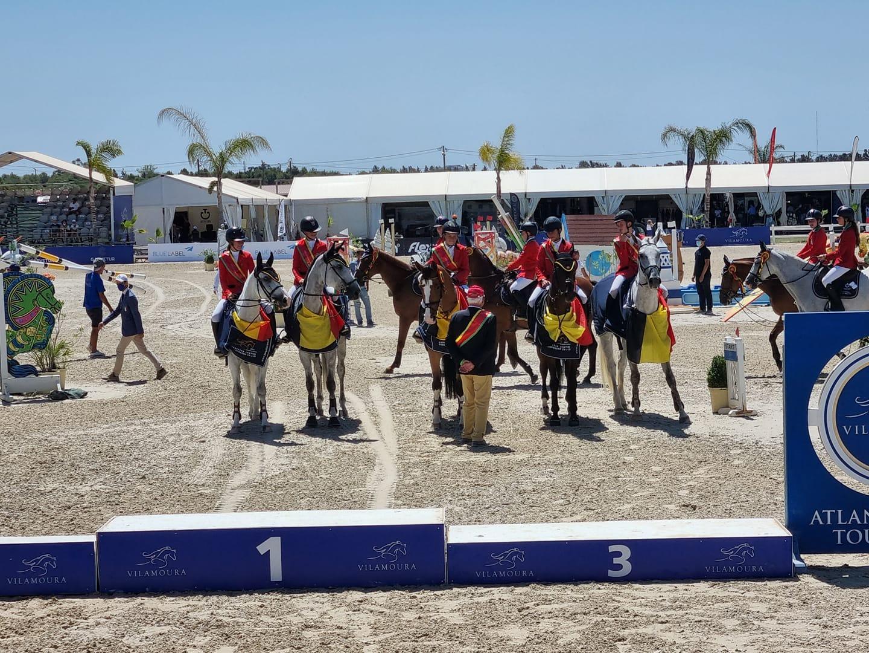 Hattrick for Belgium: Children are also European Champions