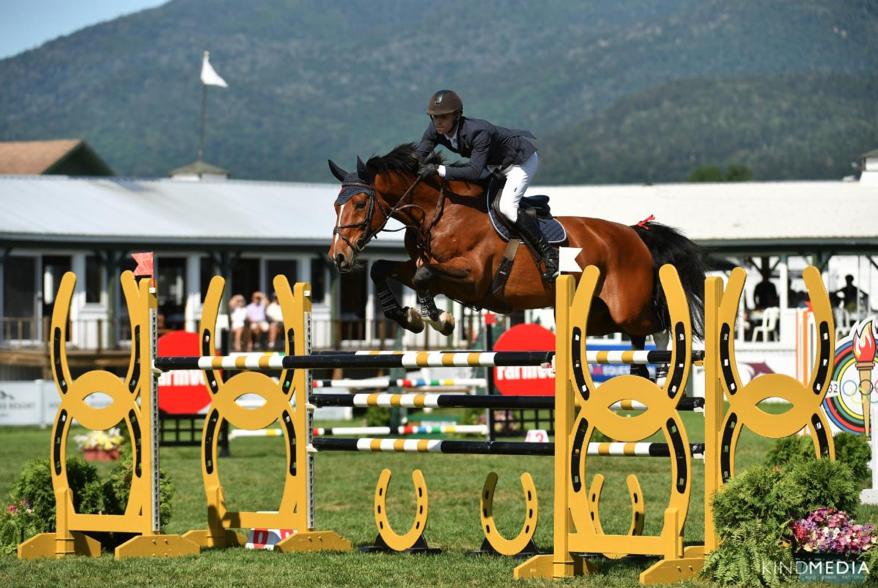 Alex Matz Wins $100,000 Great American Insurance Group Grand Prix at Lake Placid Horse Shows