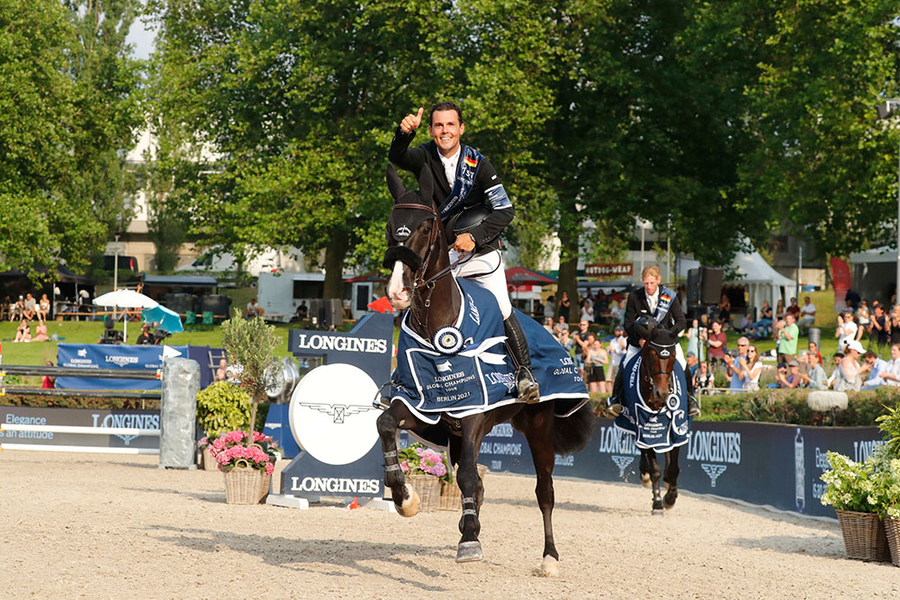Sergio Alvarez Moya and Alamo win CSI5* Grand Prix of Berlin