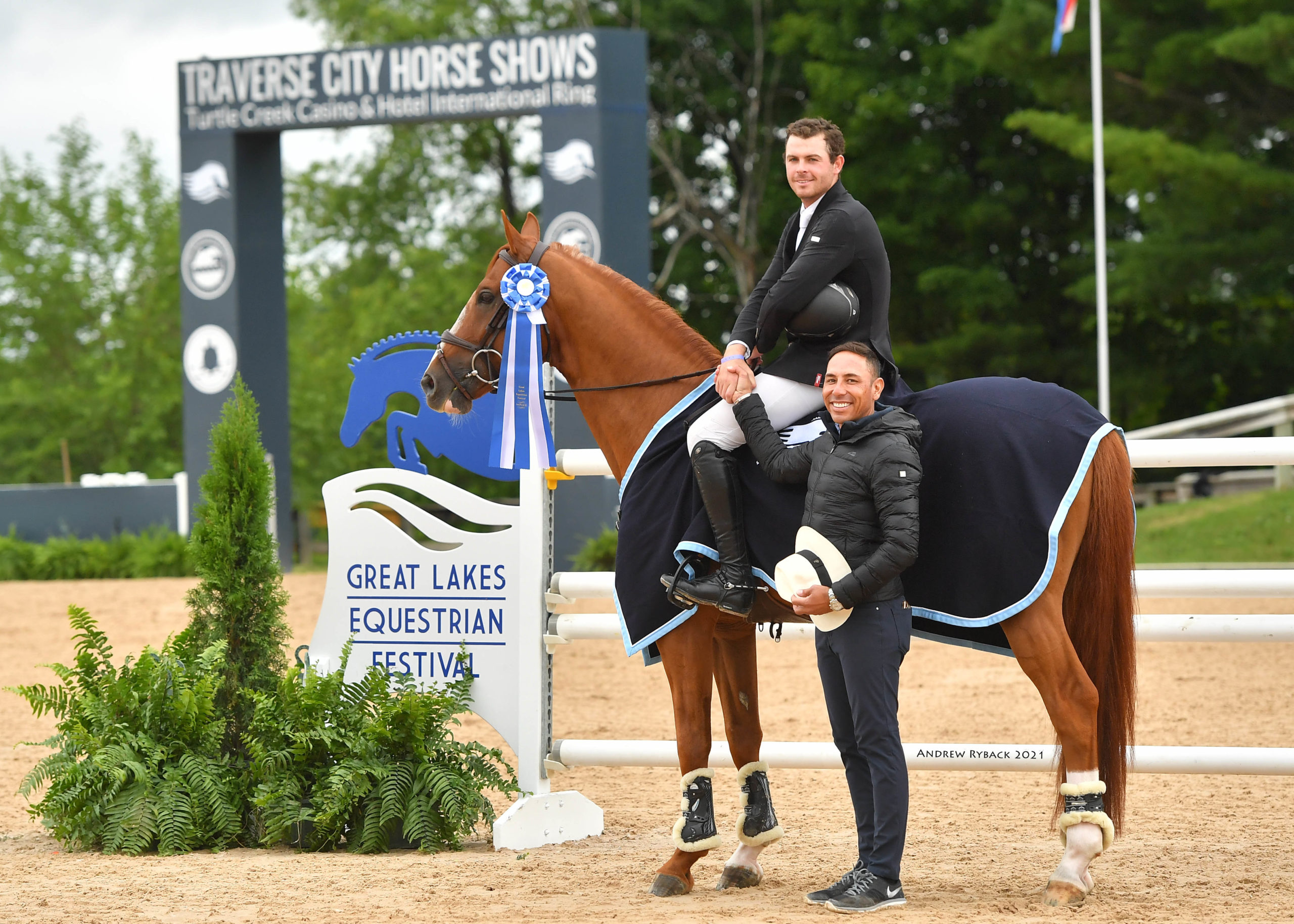 Cormac Hanley and RMF Chacco Top Race to 36.000 Speed Classic CSI3* victory to open Great Lakes Equestrian Festival I