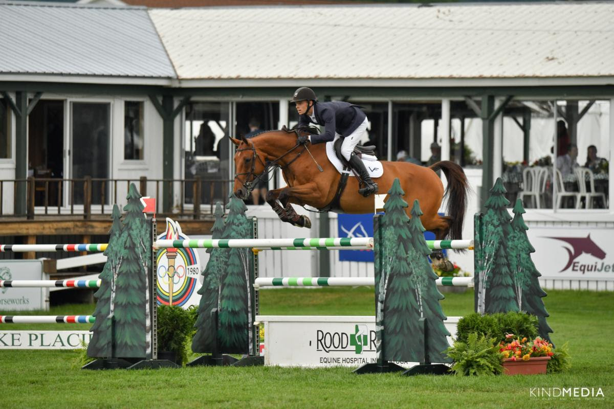 Alex Matz Wins $100,000 Richard M. Feldman Grand Prix to Culminate Week 1 at Lake Placid Horse Show