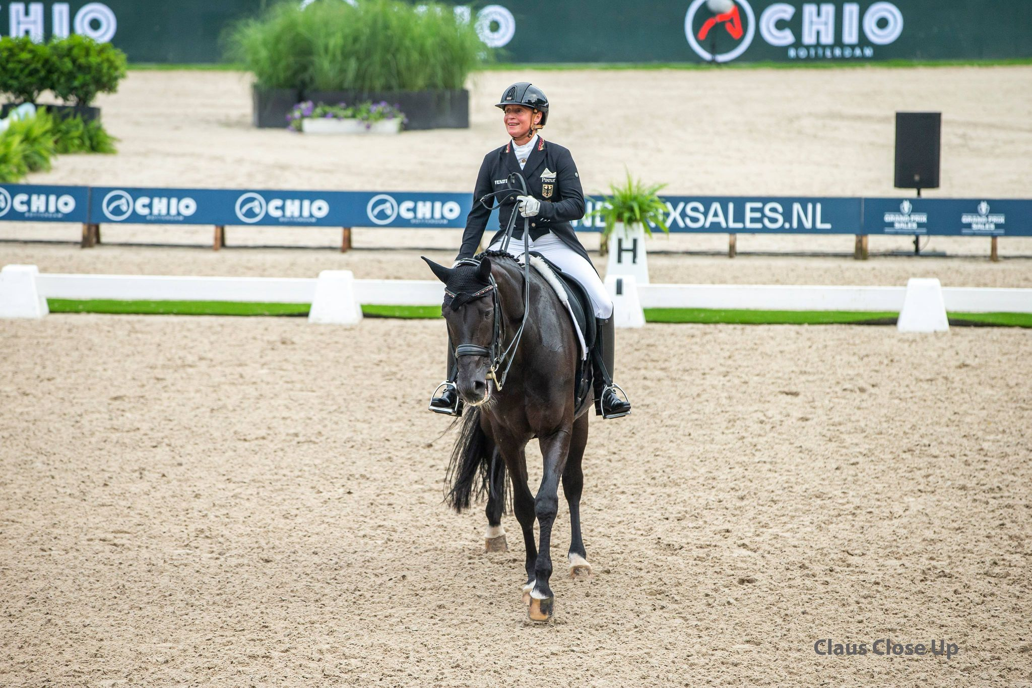 Isabell Werth wins GP Freestyle in Rotterdam
