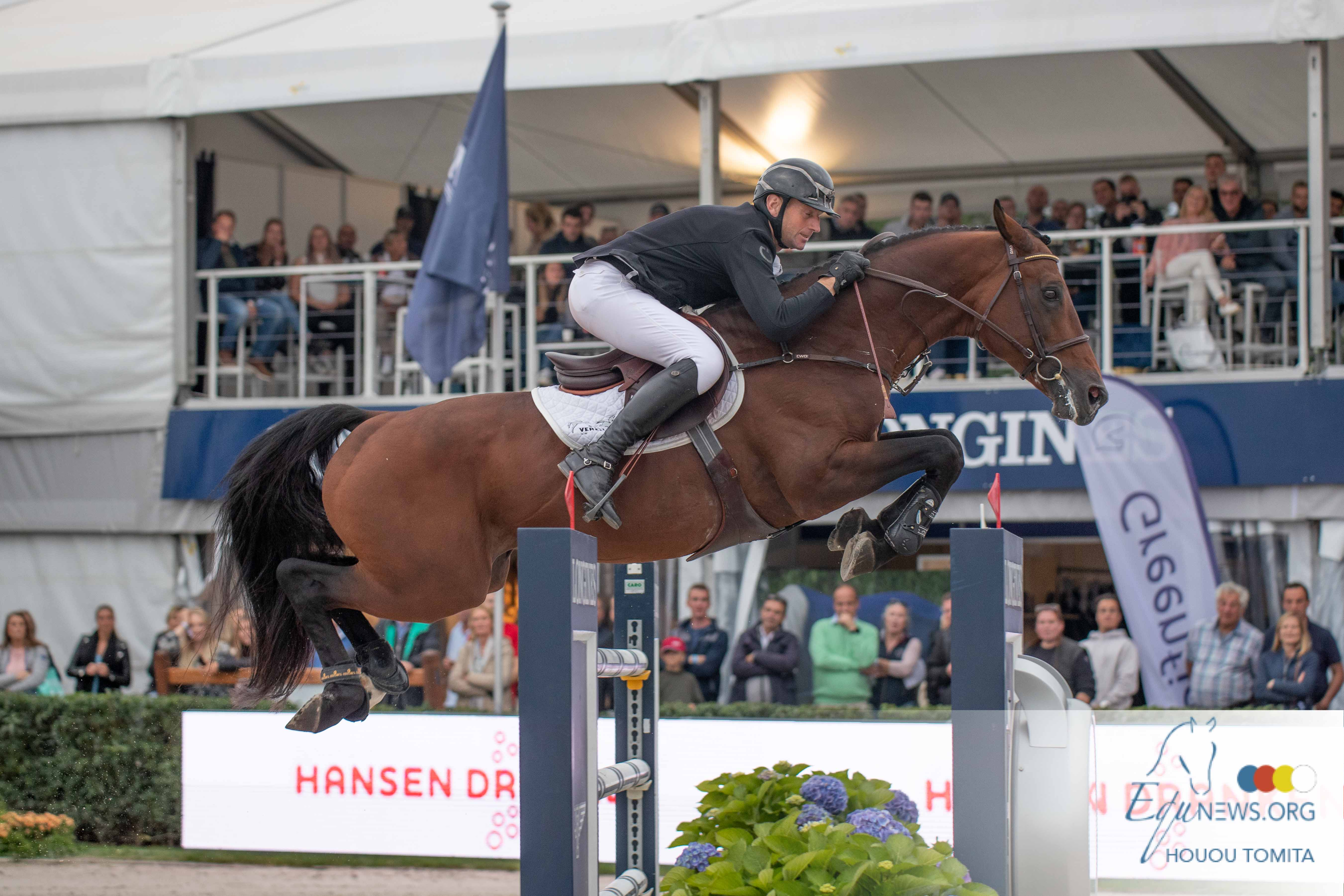Koen Vereecke and Kasanova de la Pomme win Sires of the World after a great thriller!