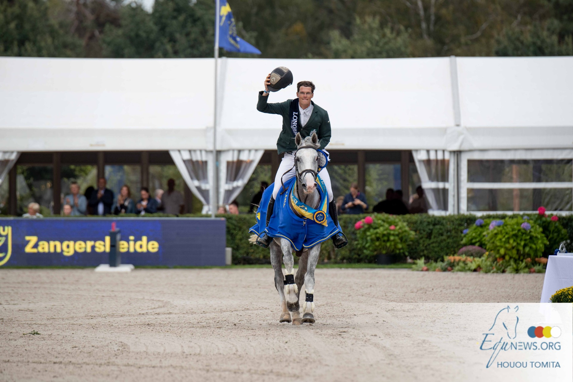 Harm Lahde and Just a Dream are the new World Champions!
