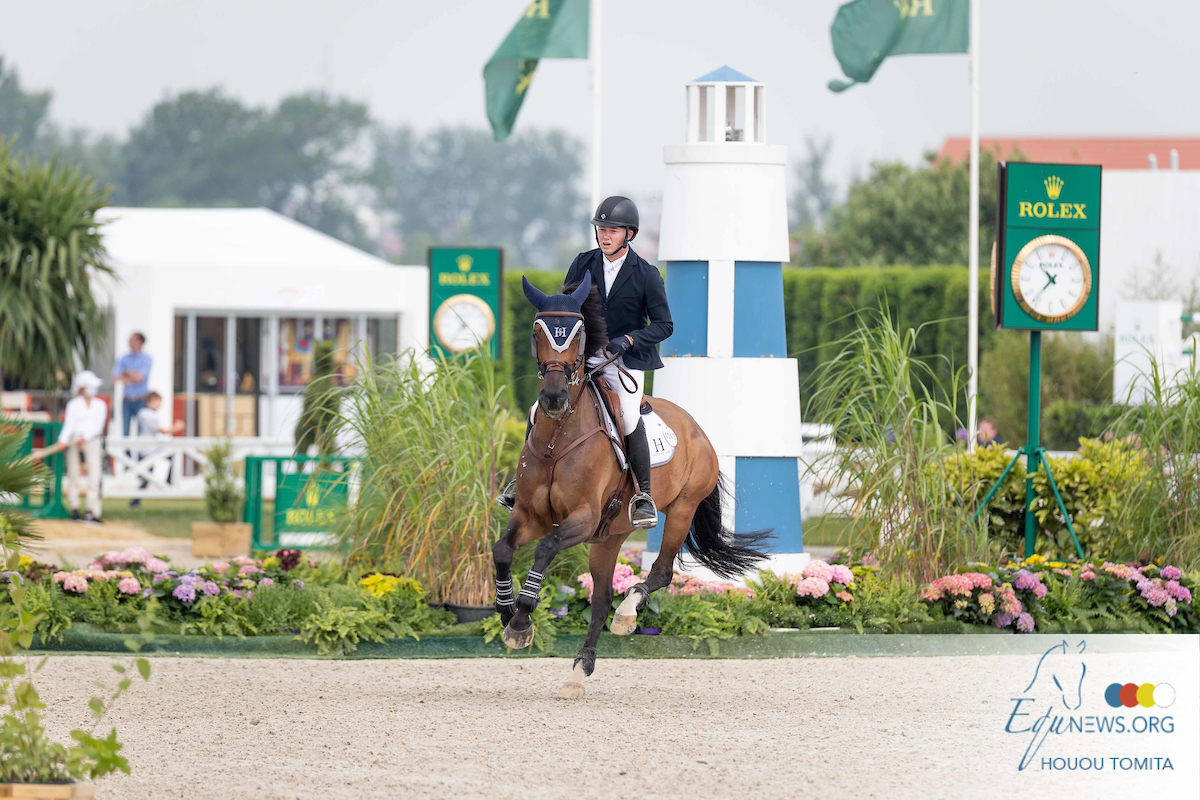 CSI5* Hubside: only Harry Charles achieves time allowed, enough for victory in the ranking