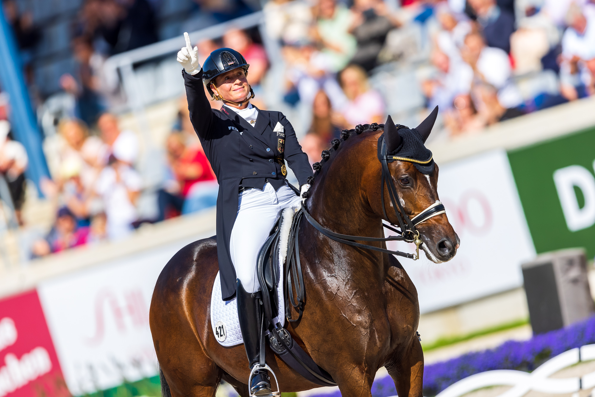 CHIO Aachen: Werth takes revenge in Freestyle