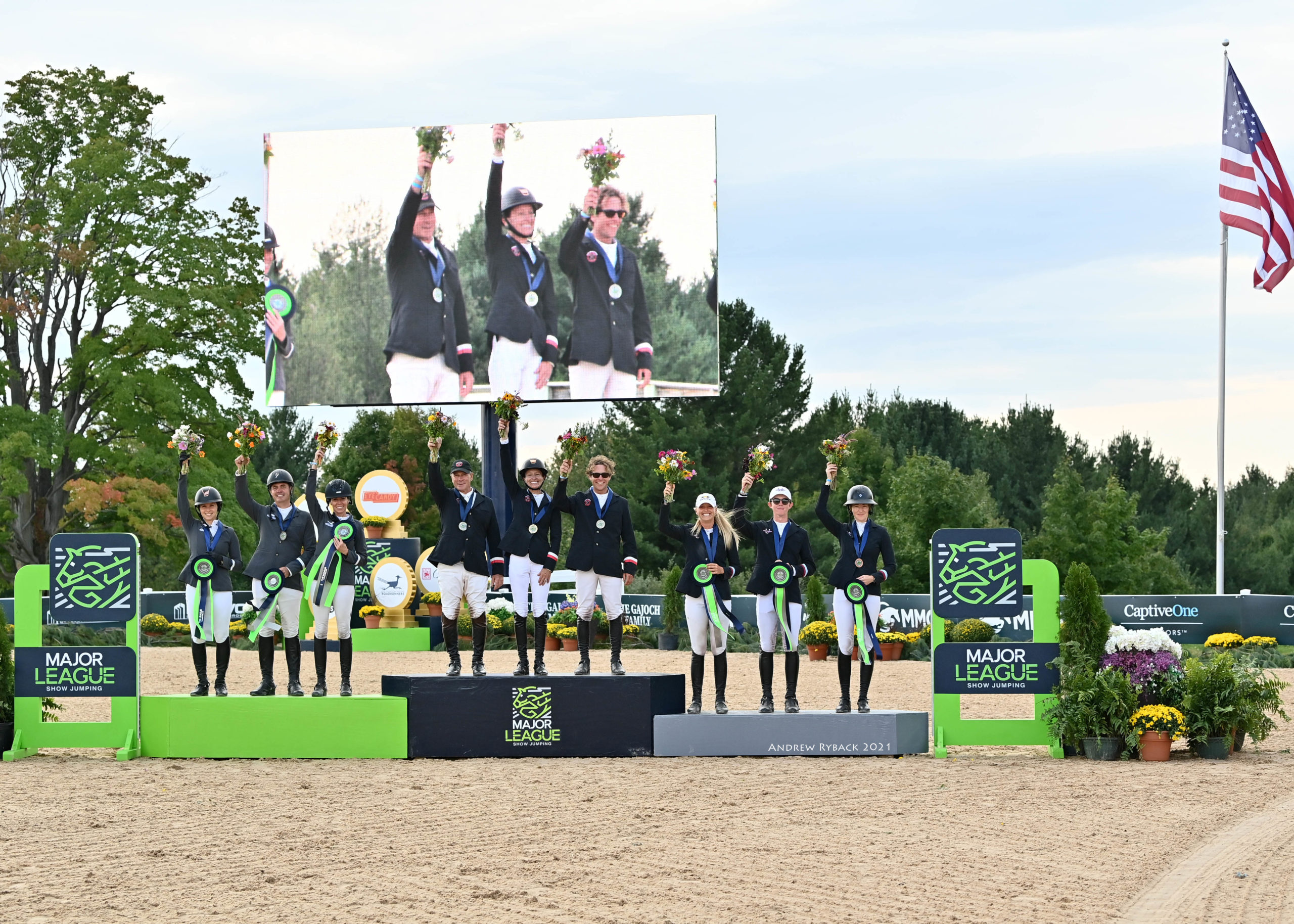 Crusaders Cruise to victory in team competition CSI5* Team Competition
