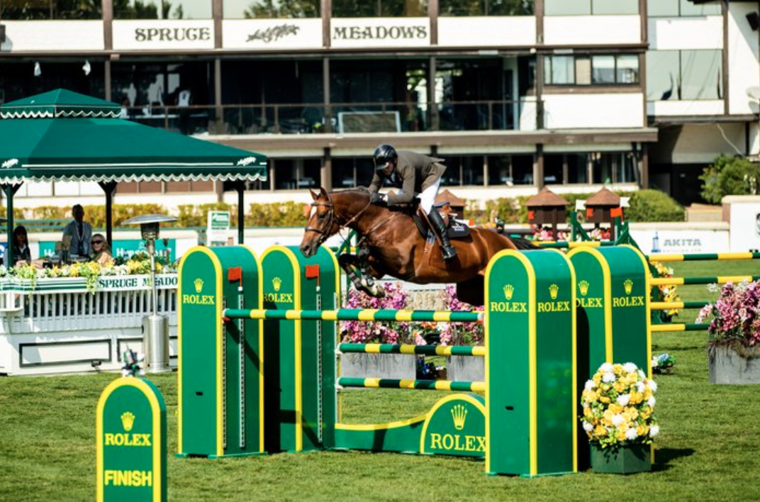 """Eric Lamaze: """"When you come to Spruce Meadows, you know you're going to have to put your best foot forward"""""""