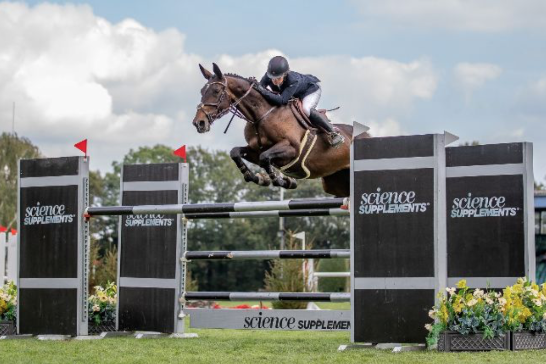 Nicole finishes Hickstead season on a high with Grand Prix win