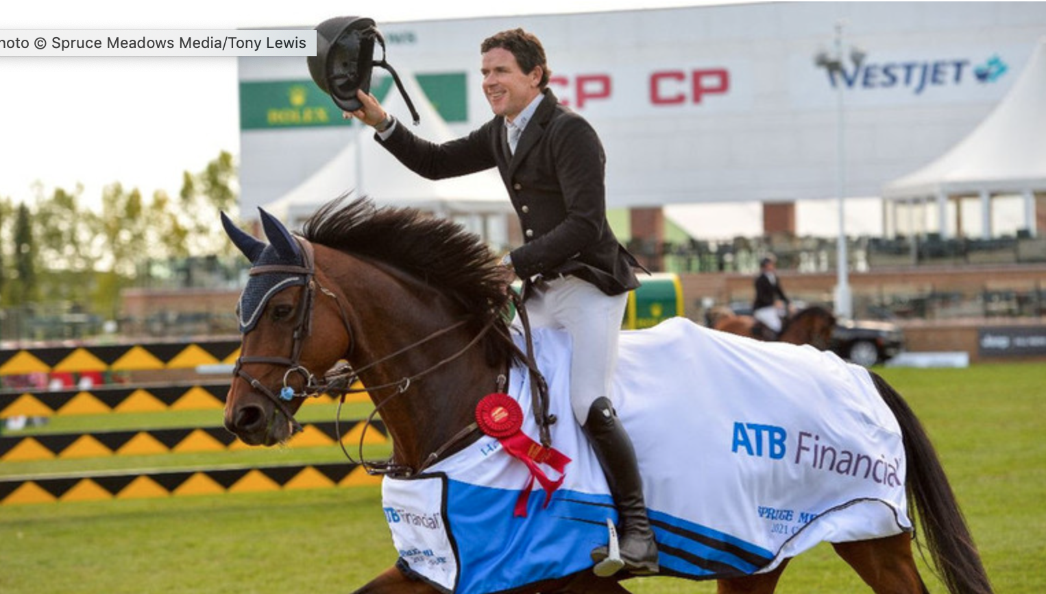 Conor Swail and Count Me In claim another Spruce Meadows victory in the ATB Financial Cup