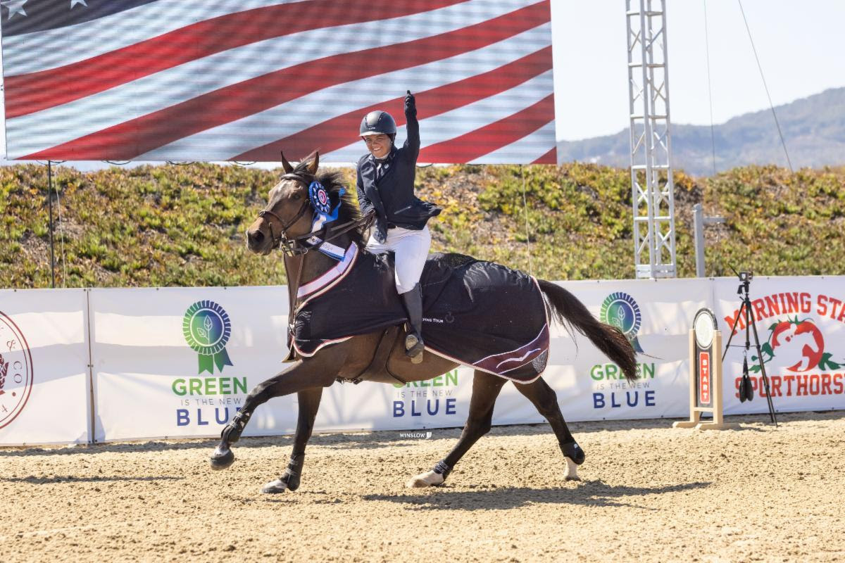 A Day of Firsts for Simonne Berg with $100,000 1.45m Grand Prix CSI2* Victory to Close Sonoma International