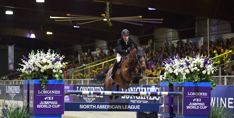 Longines FEI Jumping World Cup™ NAL 2021/2022: Swail secures second straight Longines victory in Sacramento