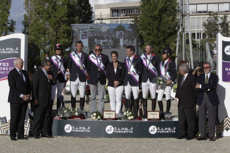 France in the lead of the Nations Cup series