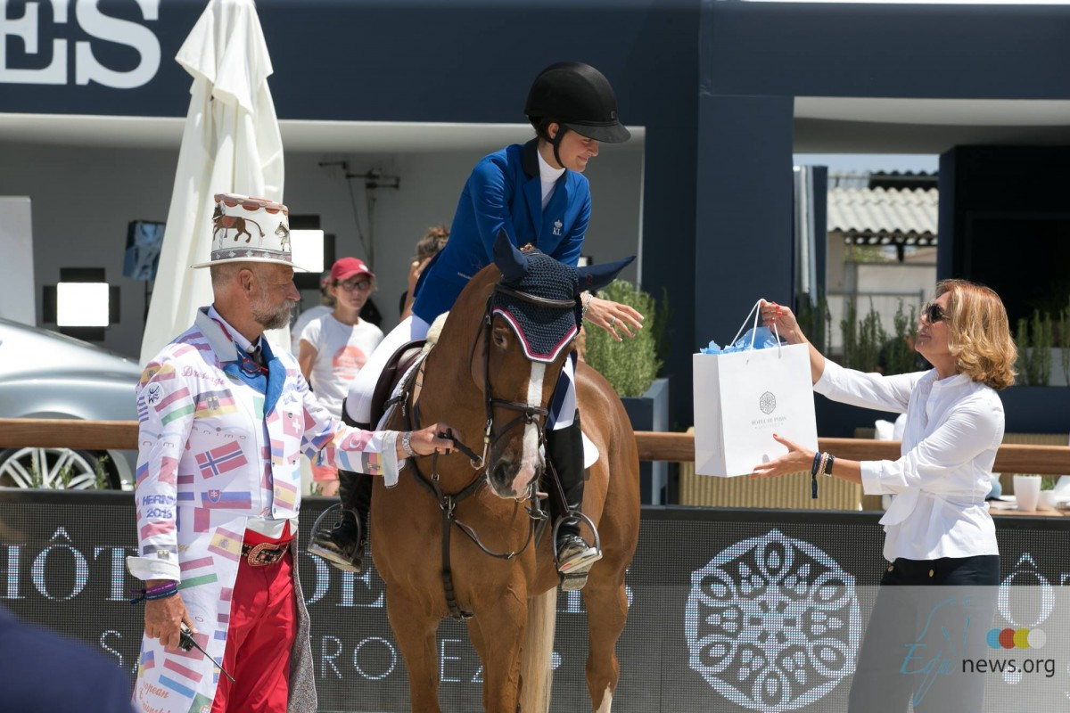 Laura Mathy claims victory in Dolce & Gabbana Grand Prix St Tropez